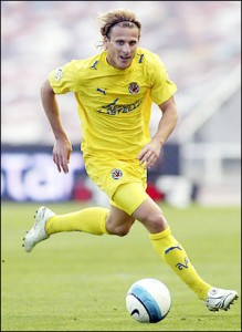 Forlan Villareal-játékosként