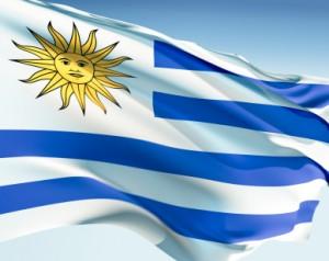 Diego Forlan Uruguay-i válogatott - Uruguay-i zászló
