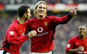 Forlan - Giggs gólöröm a Manchester United mezében