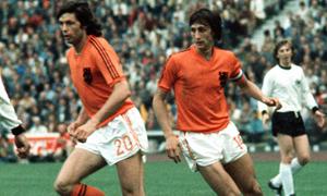 Holland válogatott focista legendák - Cruyff