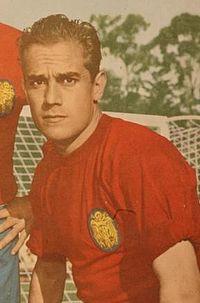 Puskás Ferenc és az Aranylabda - Luiz Suarez, aki az Aranylabdát kapta 1960-ban