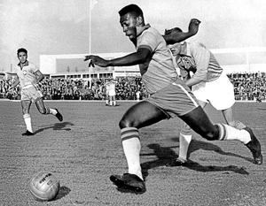 Puskás Ferenc és az Aranylabda - Pelé